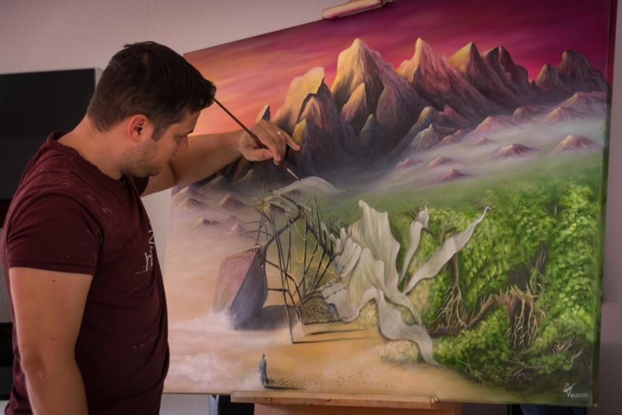 Andrei Ciornohuz, Maler aus Köln